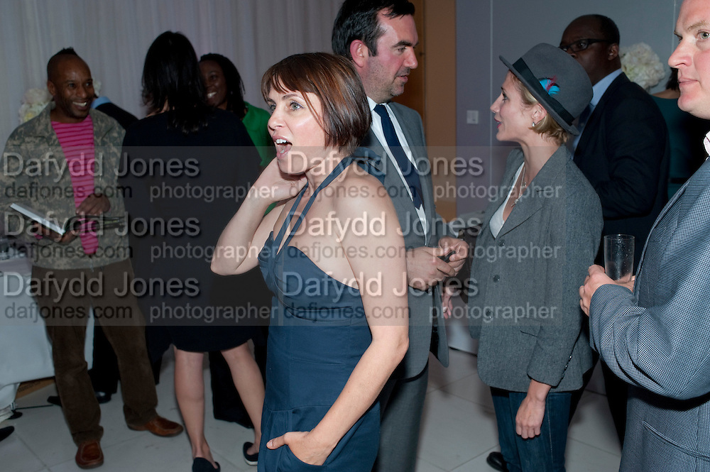 SADIE FROST; SIMON ABOUD; LISA DWANG, Told, The Art of Story by Simon Aboud. Published by Booth-Clibborn editions. Book launch party, <br /> St Martins Lane Hotel, 45 St Martins Lane, London WC2. 8 June 2009
