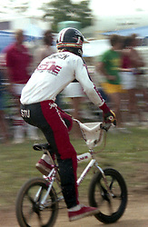 STU THOMSPON!!! .Some big race at Jack Pine BMX, Lansing, MI, sometime in the early 80's.