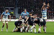 England v Argentina 26.11.16