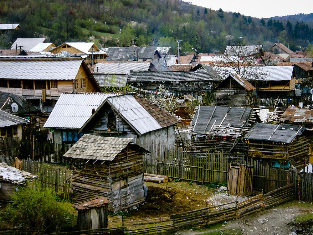 Village of Glod, in Romania used in the movie Borat as Khazicstan