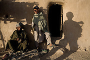 Members of the 82nd Airborne hunt for Taliban in the remote mountain village of Bar Hajji Top in Kandahar province, Afghanistan on Saturday, March 24, 2007.