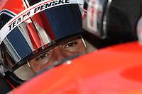 Helio Castroneves, Iowa Corn Indy 250, Iowa Speedway, Newton, IA USA 22/6/08,