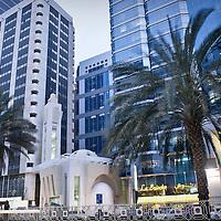 Abu Dhabi, United Arab Emirates 03 April 2009<br /> View of downtown Abu Dhabi.<br /> Photo: Ezequiel Scagnetti
