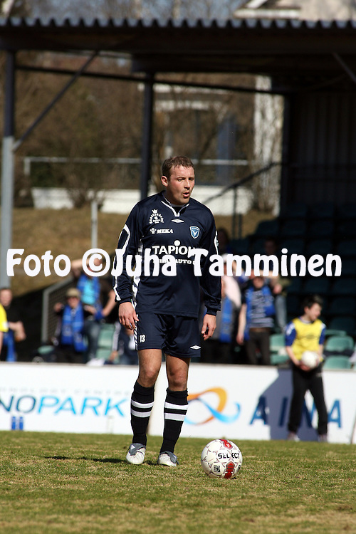 25.04.2009, Kauriala, H?meenlinna, Finland..Ykk?nen 2009.FC H?meenlinna - AC Oulu.Mika Nurmela - AC Oulu.©Juha Tamminen.