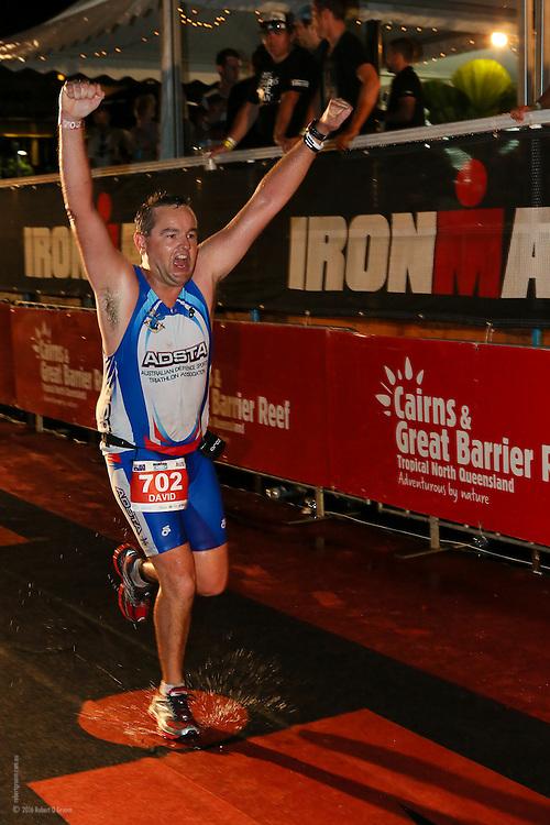Ironman Cairns 2013 - Finish line