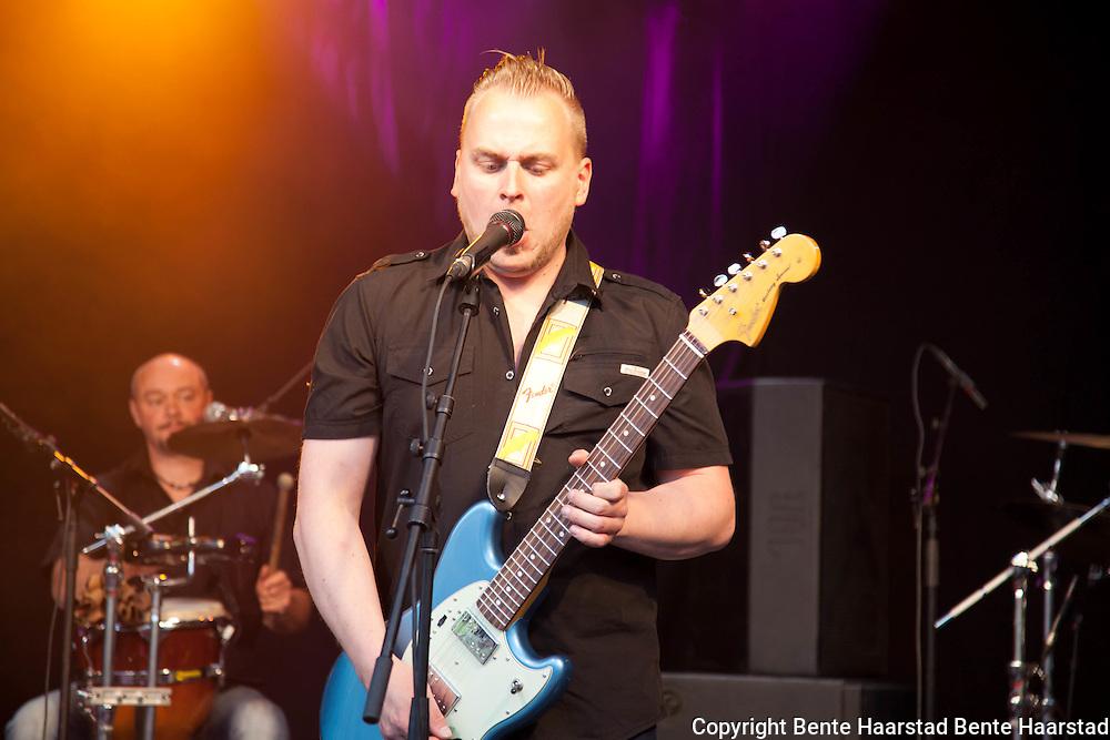 Hans Bollandsås, blues-musiker fra Melhus i Sør-Trøndelag, vant norsk X Factor 2010.