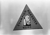 1964 Champion Roadster Badge