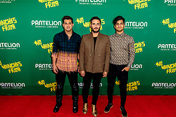 LOS ANGELES, CA - AUGUST 31 Musical group REIK attend the red carpet premiere of the film No Manches Frida the the Regal Cinemas in downtown Los Angeles on Tuesday night 2016 August 31. Byline, credit, TV usage, web usage or linkback must read SILVEXPHOTO.COM. Failure to byline correctly will incur double the agreed fee. Tel: +1 714 504 6870.