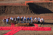 Groundbreaking ceremony for Domaine Serene's new clubhouse, Dundee Hills AVA, Willamette Valley, Oregon