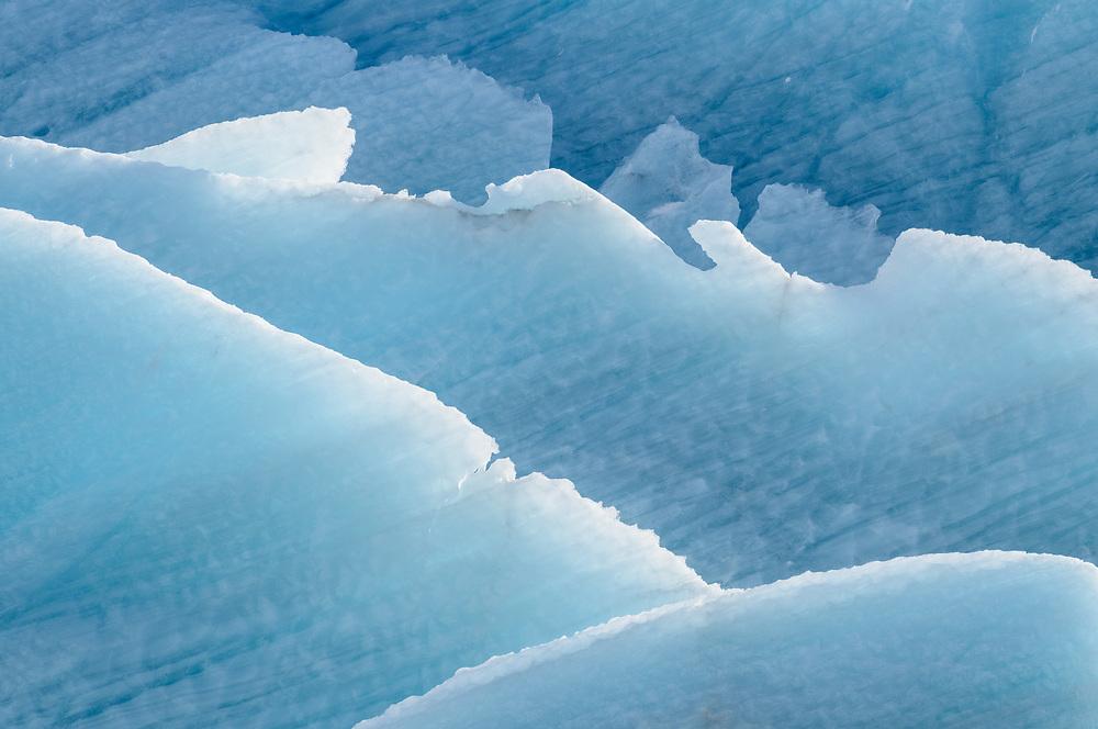 Ice detail, Svínafellsjökull, Iceland