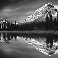 Bow Mountain monochrome