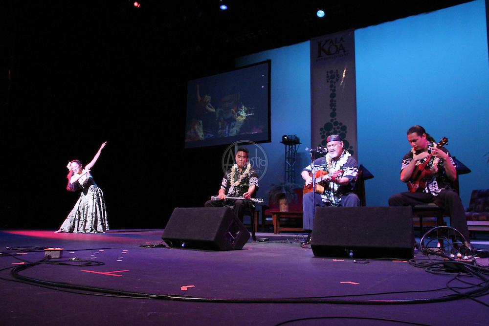 1st Annual Los Angeles Guitar Festival, July 2011.  Cyril Pahinui.