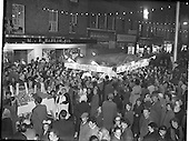 1958 - M. and P. Hanlon Ltd. shellfish display stall on Moore Street
