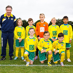 Academy players pose for team photos - Mandatory byline: Rogan Thomson/JMP - 07966 386802 - 20/08/2015 - FOOTBALL - Golden Hill Training Centre - Bristol, England - Bristol Rovers Academy Team Photos.