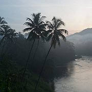 River beside A2 road near Kitulgala.