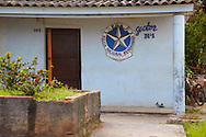 Police station in Mantua, Pinar del Rio, Cuba.