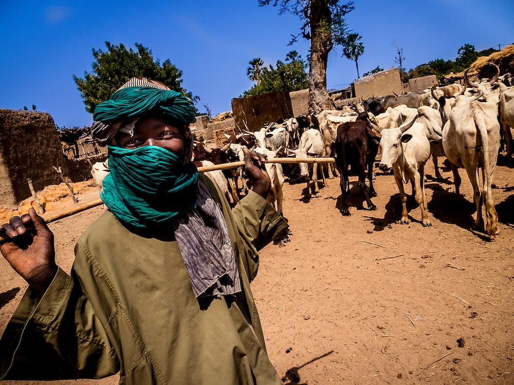 West, Africa, Mali, village near Bamako