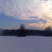 Salzburg Groeden Austria in Winter