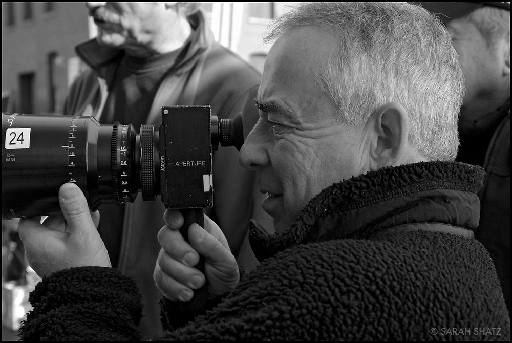 "Bruce MacCallum on the set of ""Ghost Town"" (Dir: David Koepp, 2008)"
