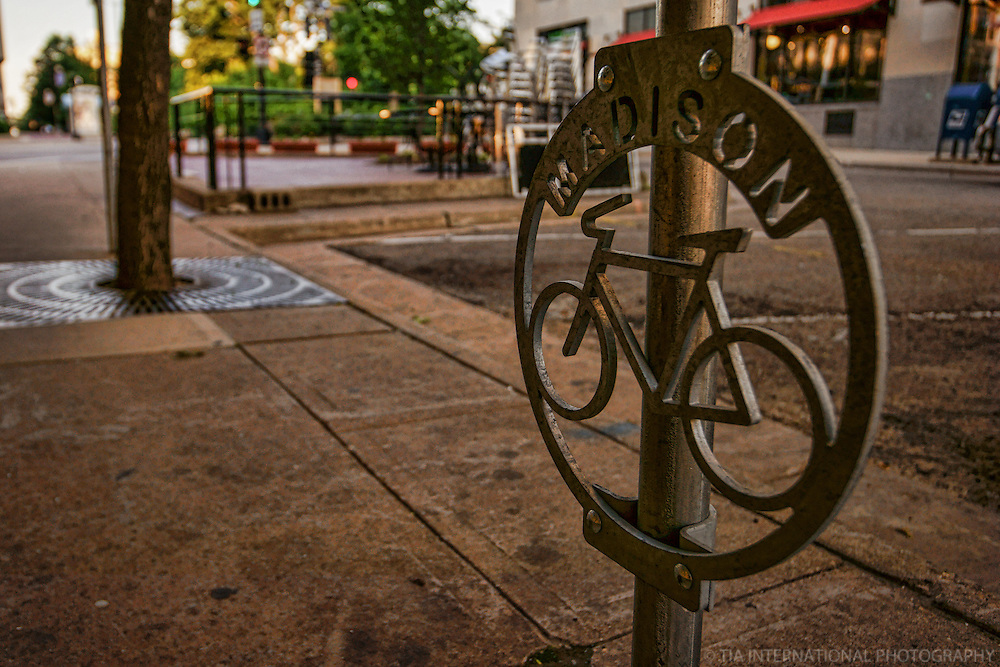 Bike Rack on King Street