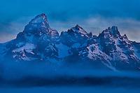 Intimate shot of the Grand Teton, Grand Teton National Park, Wyoming