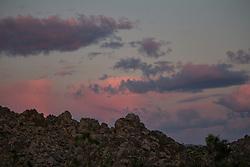 Joshua Tree National Park, California; sky; clouds;