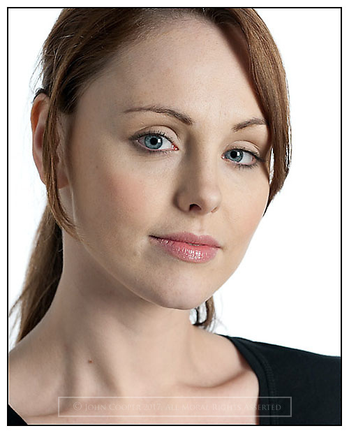 Headshot of Scottish actress Louise Stewart.