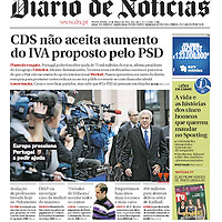 USE ARROWS &larr; &rarr; on your keyboard to navigate this slide-show<br /> <br /> Diario de Noticias - Portugal<br /> Cover photo of Portugal's Prime Minister Jose Socrates on the 25th March 2011.<br /> Photo: Reuters / Ezequiel Scagnetti