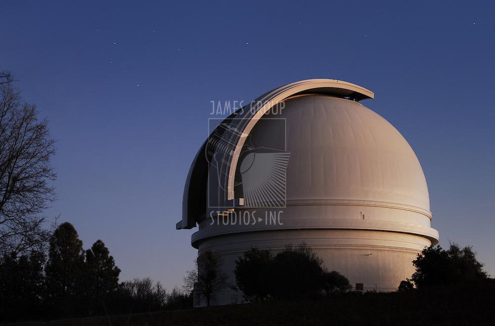 Mr. Palomar Observatory at dusk