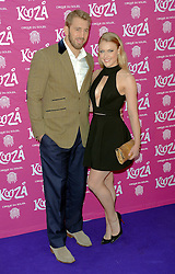 Chris Robshaw and Camilla Kerslake attend Cirque Du Soleil Kooza Press Night  at The Royal Albert Hall, Kensington Gore, London on Tuesday 6 January 2015