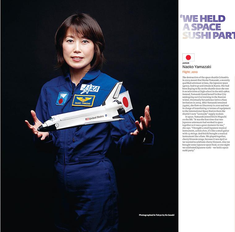 Naoko Yamazaki FT Magazine