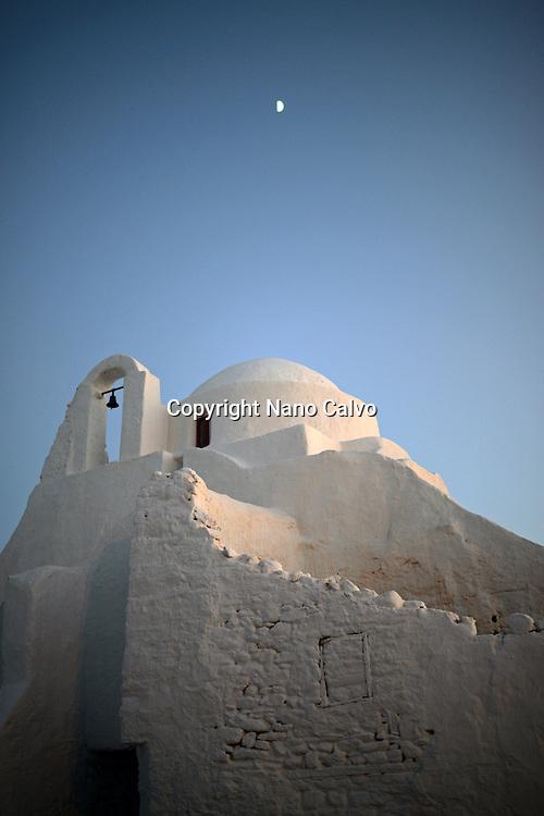 Church of Panagia Paraportiani, Mykonos, Greek Islands, Greece