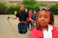 Primary school yard.