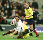 20011117  England vs Romania, Autumn International,