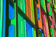 Architecture at the Palais de Congress, Montreal, Quebec, Canada