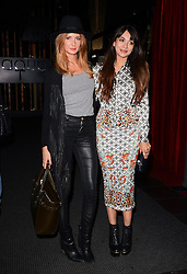 Millie Mackintosh and Zara Martin attend Xperia Z3 Launch Party as Sony celebrates the launch of its new Xperia Z3 smartphone at Aqua Nueva, 30 Argyll Street, London W18 on Thursday 25th September 2014