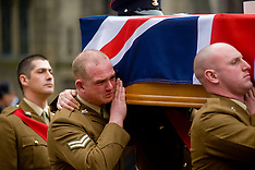 Funeral Corporal Riley Sheffield