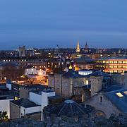 Oxford panoramic city skyline