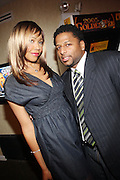 l to r: Tia Walker and Raphael Blanco at The Men of Style Awards presented by Gillette Fusion and Rolling Out Urbanstyle Weekly held at the 40/40 Club on Novemeber 2, 2009 in New York City