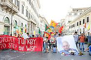 20160726 - Presidio a Roma contro Erdogan per la liberazione di Abdullah Öcalan