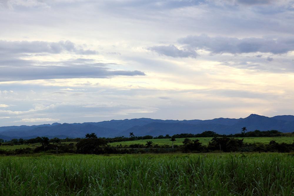 Countryside near Guayos, Sancti Spiritus, Cuba.