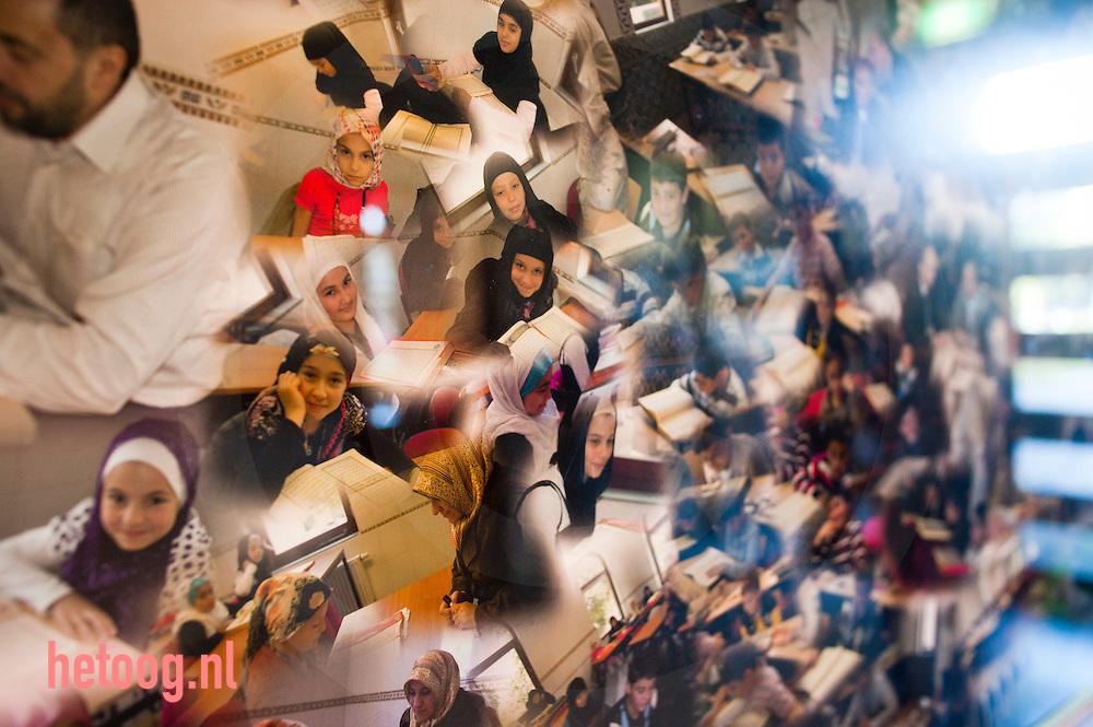 Nederland deventer moskee aan de Smyrnadwarsstraat. Bij artikel Frans van Ginkel t.b.v. Arcon foto: Cees Elzenga