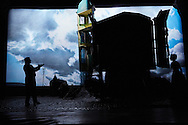 An Inspector Calls by J B Priestley<br /> Directed by Stephen Daldry<br /> Designed by Ian MacNeil<br /> Lighting Design by Rick Fisher<br /> Music by Stephen Warbeck<br /> Associate Director Julian Webber<br /> <br /> Cast:<br /> Liam Brennan<br /> Clive Francis<br /> Barbara Marten<br /> Carmela Corbett<br /> Matthew Douglas<br /> Diana Payne-Myers<br /> Hamish Riddle