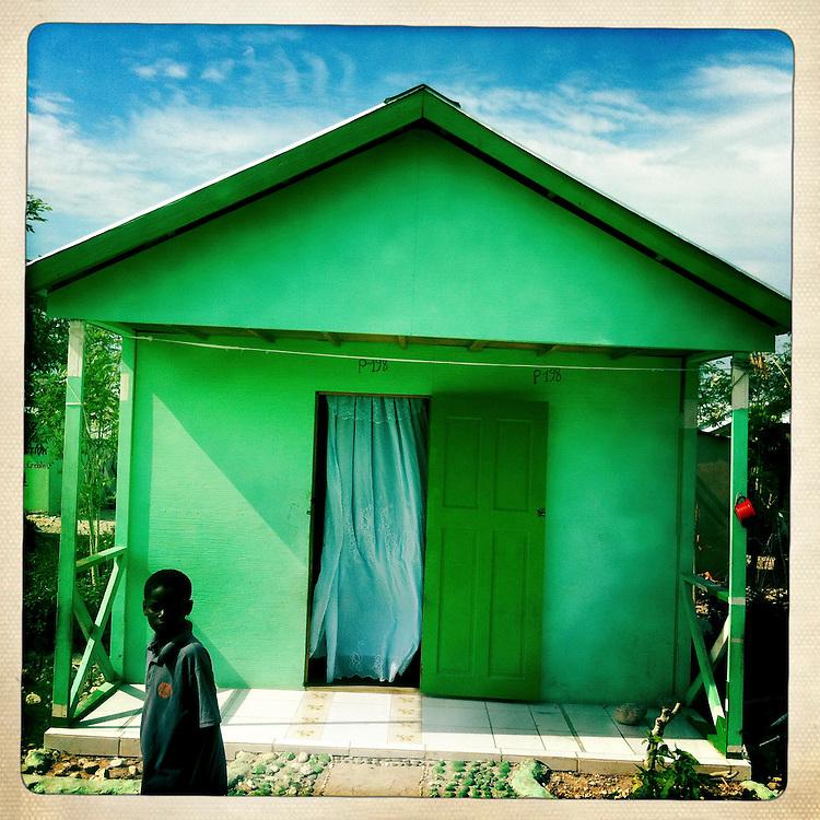 The Corail camp on Thursday, April 5, 2012 in Port-au-Prince, Haiti.