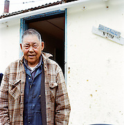 Elder in Newtok, Alaska. 2008