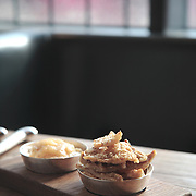 Pork Cracklings, HIX Restaurant, 66-70 Brewer St, Soho, London, United Kingdom.CREDIT: Vanessa Berberian for The Wall Street Journal.HIX