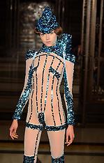 SEP 16 2013 Pam Hogg show at London Fashion Week Spring-Summer 2014