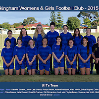 Rockingham Womens Football Teams