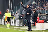 can - 25.01.2017 - Torino - Coppa Italia Tim  -  Juventus-Milan nella  foto: Massimiliano Allegri