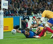 20150923 France vs Romania, Olympic Stadium, London.UK